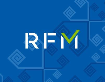 RFM. Logo & corporate identity