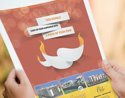 Diwali Advertisement - Real Estate