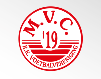 Year report for a soccer club MVC'19 Maasbree (NL)