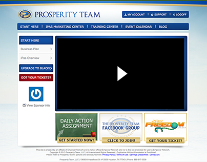 Prosperity Team / Training & Marketing System