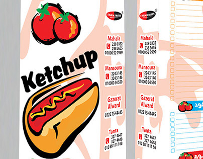 ketchup sandwiches bag