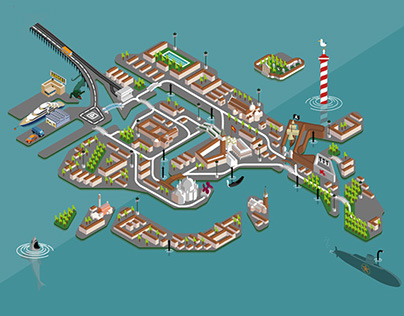 Venice - The Map