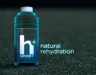 H Plus Natural Rehydration Sound Branding Design