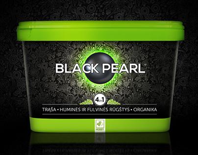 BLACK PEARL fertilizer package and brand design.