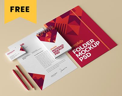 Branding Mockup Set - FREE