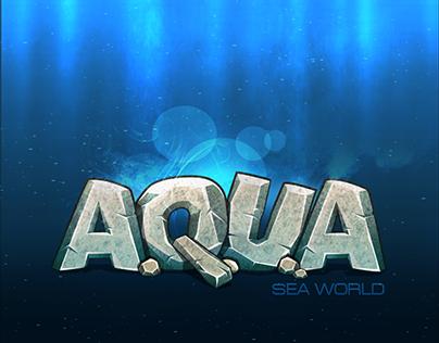 A.Q.U.A game logo