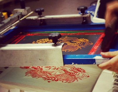 Screenprint bags