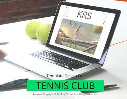Tennis Club Template