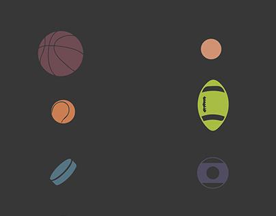 Ball sport - poster design