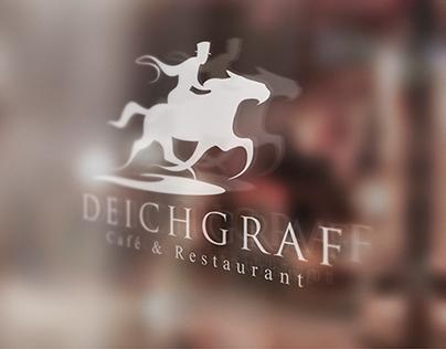 Deichgraf Café Restaurant Logotype design