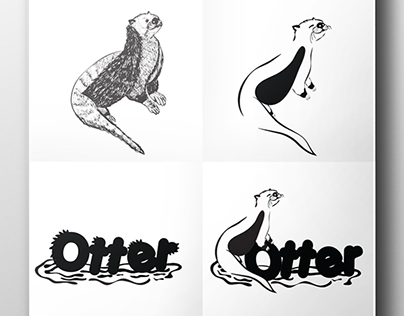 Otters Logo and Logotype