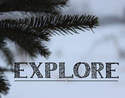 Explore (font)