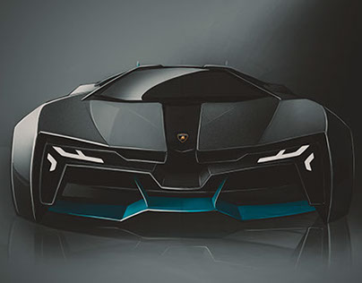 SPD SketchFigter'14 Final: Amphibious Lamborghini