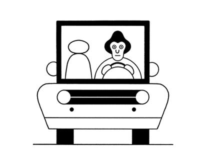 Framed - The New Yorker spot series