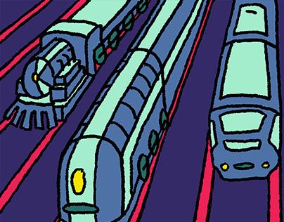 Train World Poster