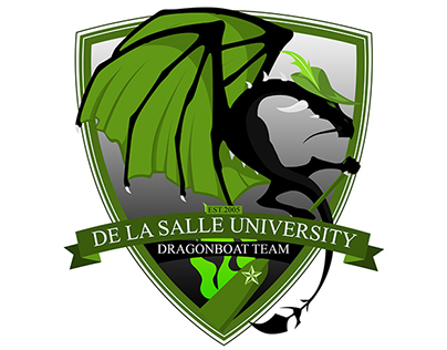 DE LA SALLE DRAGON BOAT TEAM LOGO