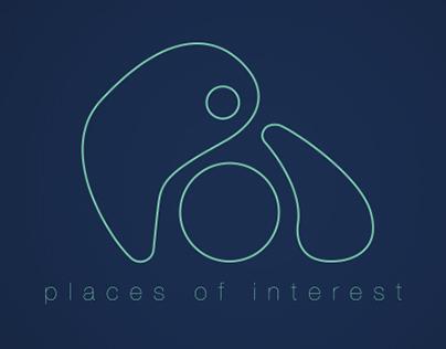 POI // iPhone App Design