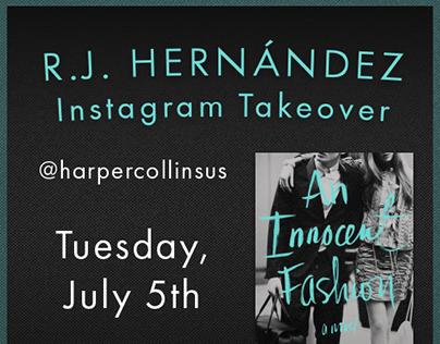 R. J. Hernández Instagram Takeover Promotion (2016)