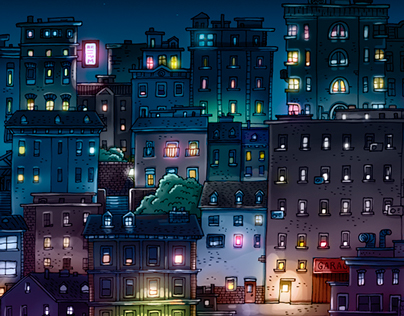 Sand City - Illustration