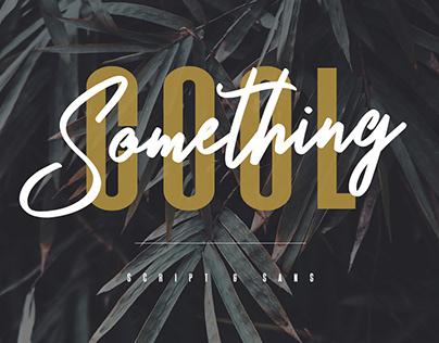 Something Cool Font