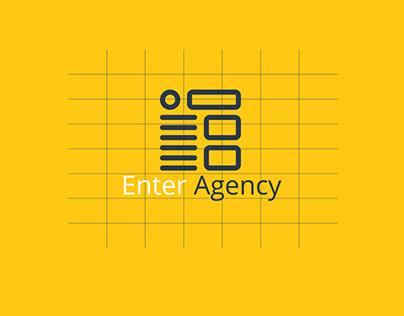 Branding For Enter Agency - Full identity
