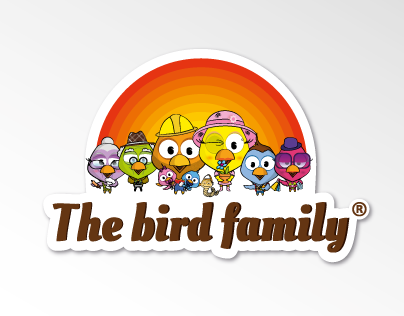 The Bird Family | Product 2.0 characters