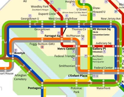Washington Metro Redesign