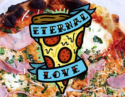 Pizza = Love