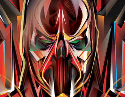 SPAWN DAMNATION -Vector Tribute