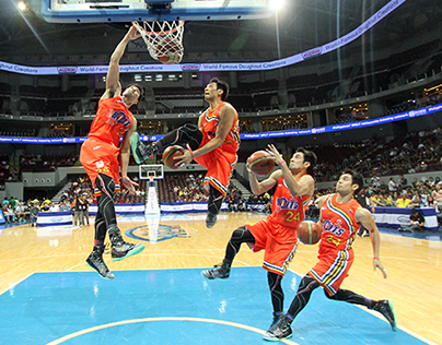 PBA All-Star 2014 SlamDunk Competition (Sequence Photo)