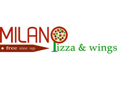 Milano Pizza & Wings - Logo Design