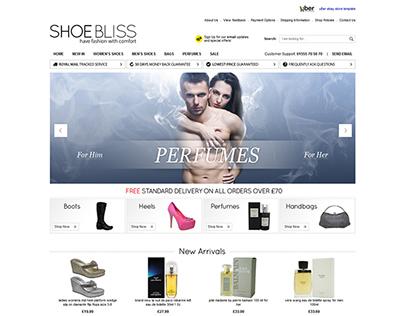 Shoe Bliss ebay design