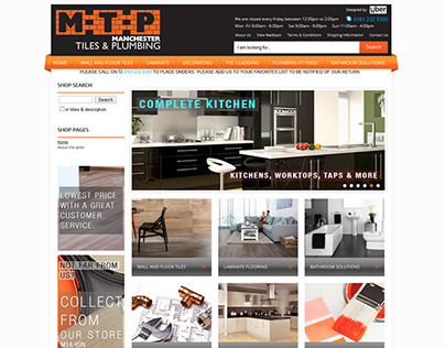 Manchester tile and plumbing ebay shop design