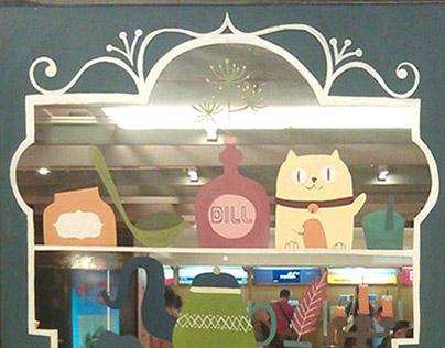 Dill mural