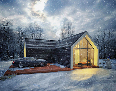 winter weekend house