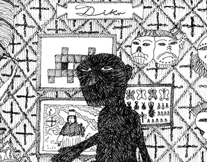 "Ilustraciones disco ""Dikr"" - Jorge Marredo. 2014"