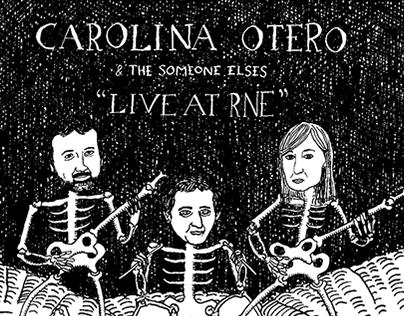 """Live at RNE""  Carolina Otero & The Someone Elses. 2014"