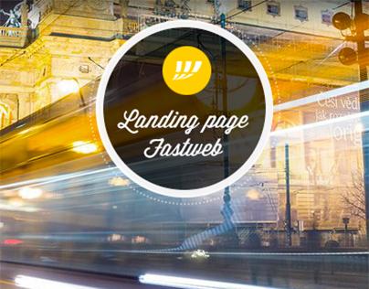 Fastweb - Landing Page - 2014