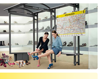 "Berliner Verkehrsbetriebe ""Shopping-Kampagne"""