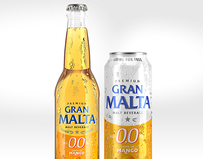 Gran Malta package 3D renders