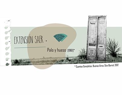 EXTENSIÓN SAER // PALO Y HUESO