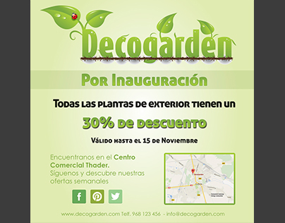 Decogarden Flyer
