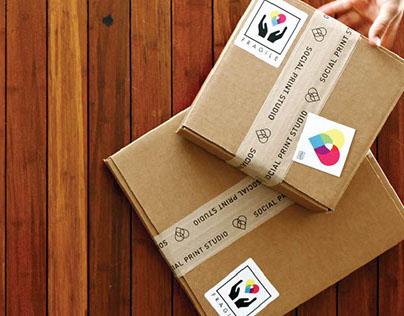 Custom Tape for Social Print Studio