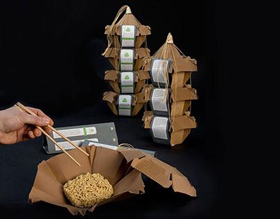 Verpackungsdesign – Pagode