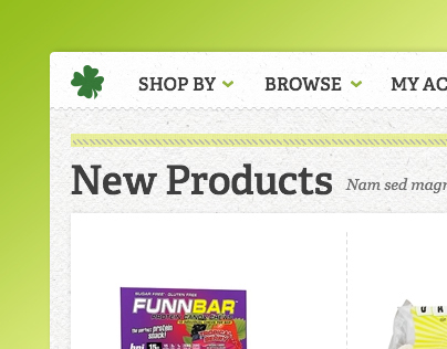 LuckyVitamin e-commerce redesign - phase 1