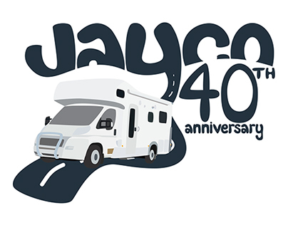 Jayco 40th Anniversary logos