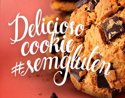 Campanha de PDV Cookie Sem Glúten - Salad Creations