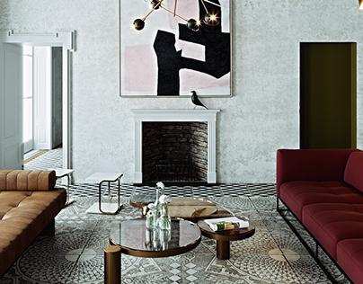 italian vintage interior II