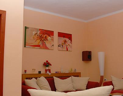 Paintings for home - maľby na mieru do bytu