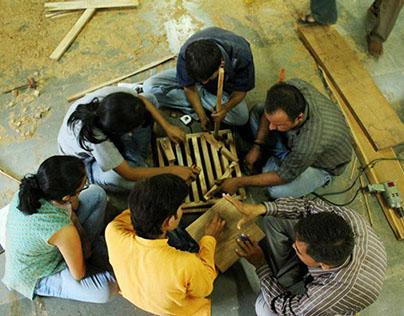 Space Making (Wood) Craft Workshop